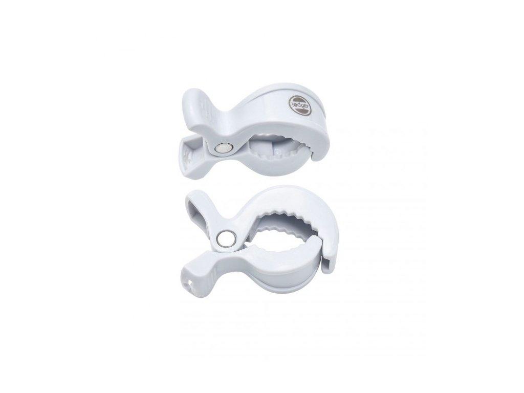 LODGER Swaddle Clip 2ks - white