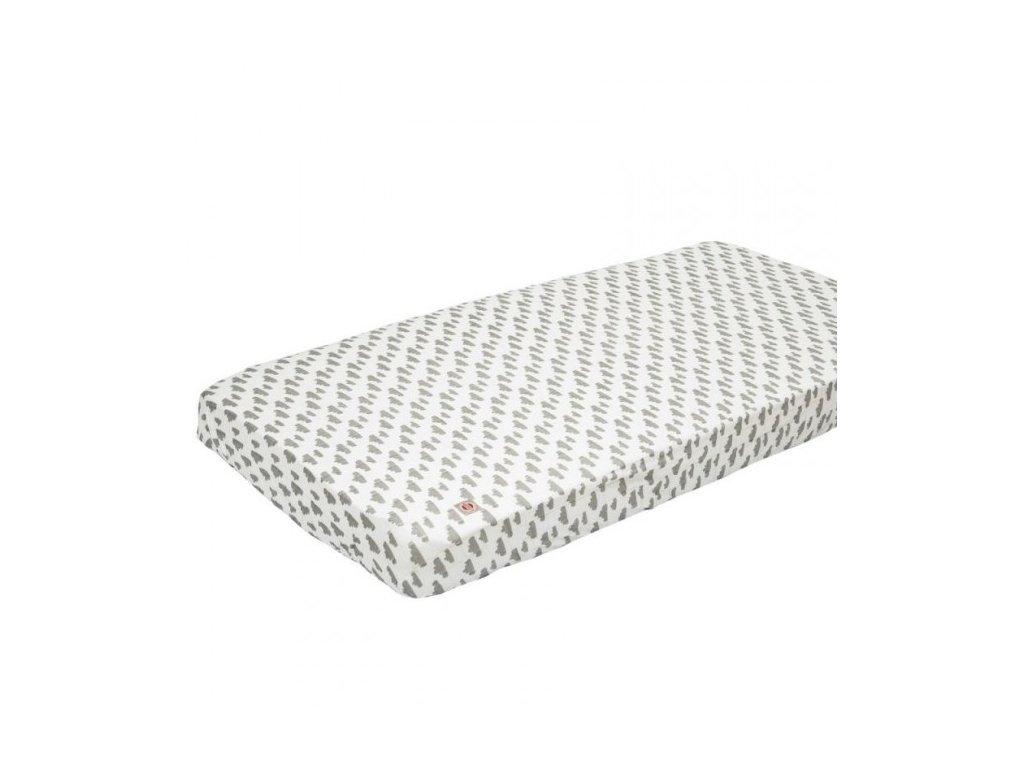 LODGER Slumber Cotton do kolísky 40x80cm - Grey