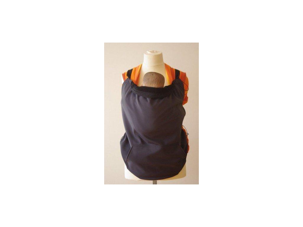 Šanami Ochranná kapsa na nosenie - čierno-čierna