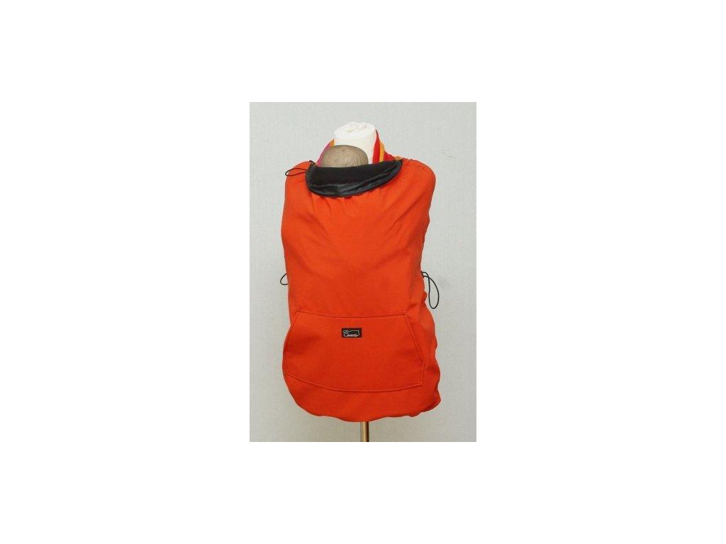Šanami Ochranná kapsa na nosenie - tehlovo-čierna