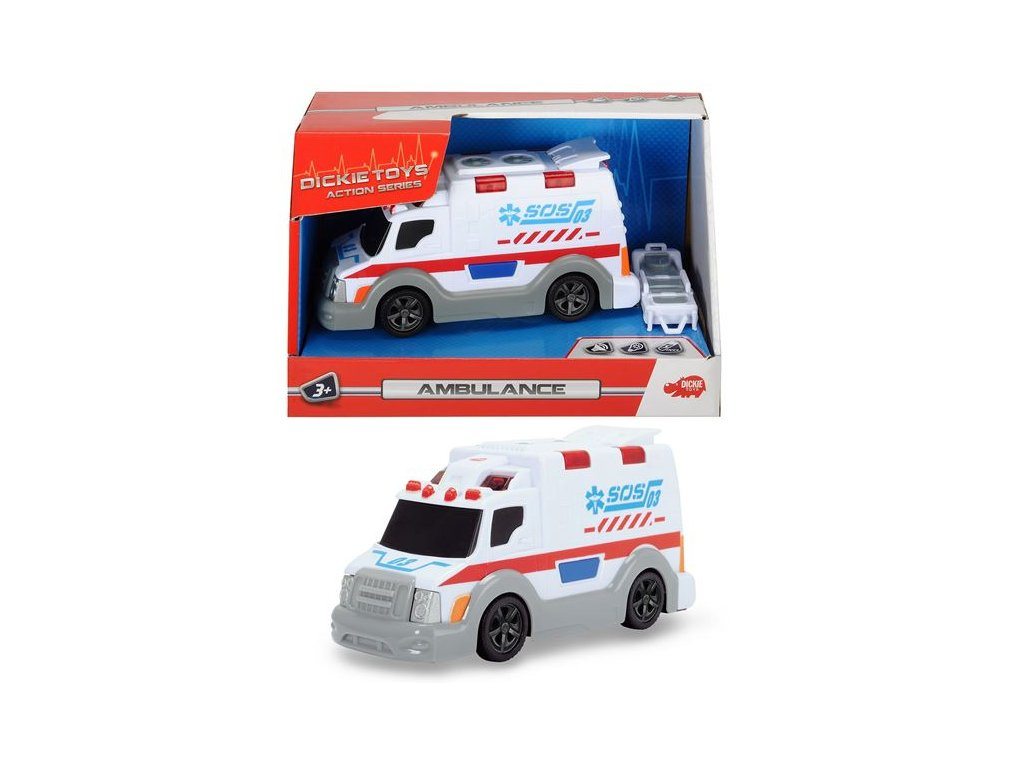 Dickie Ambulancia 15cm