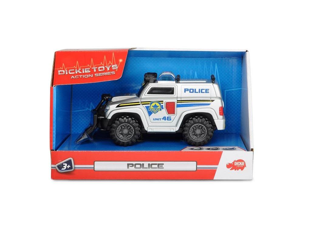 Dickie Policajné zásahové vozidlo 15cm