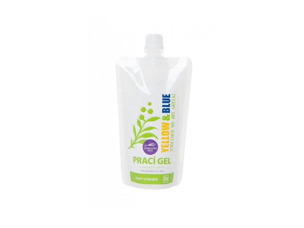 Tierra Verde Prací gél z mydlových orechov s levandulovou silicou - 250 ml