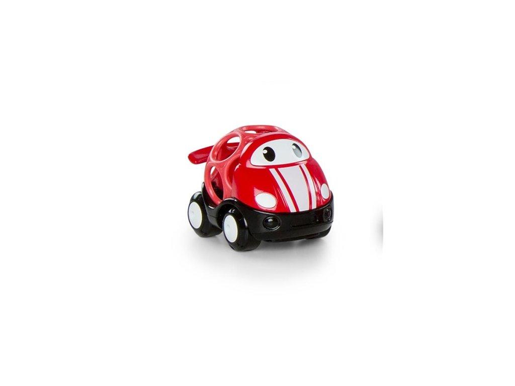 Autíčko pretekárske Jack Oball Go Grippers™ červená 18m+