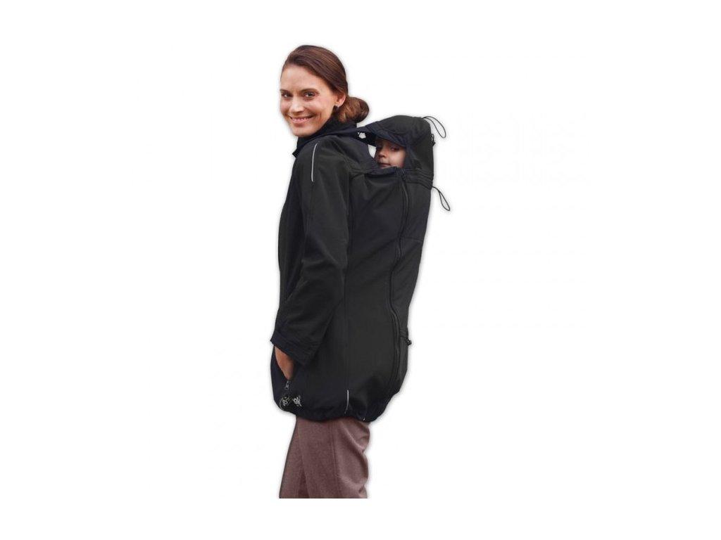 Jožánek Nosiaca softshellová bunda Sandra 3v1 - čierna M/L