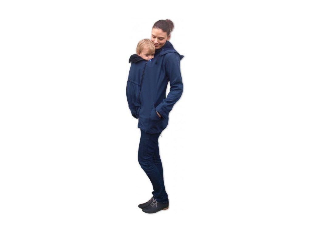 Jožánek Nosiaca softshellová bunda Stella 2 3v1 - modrá