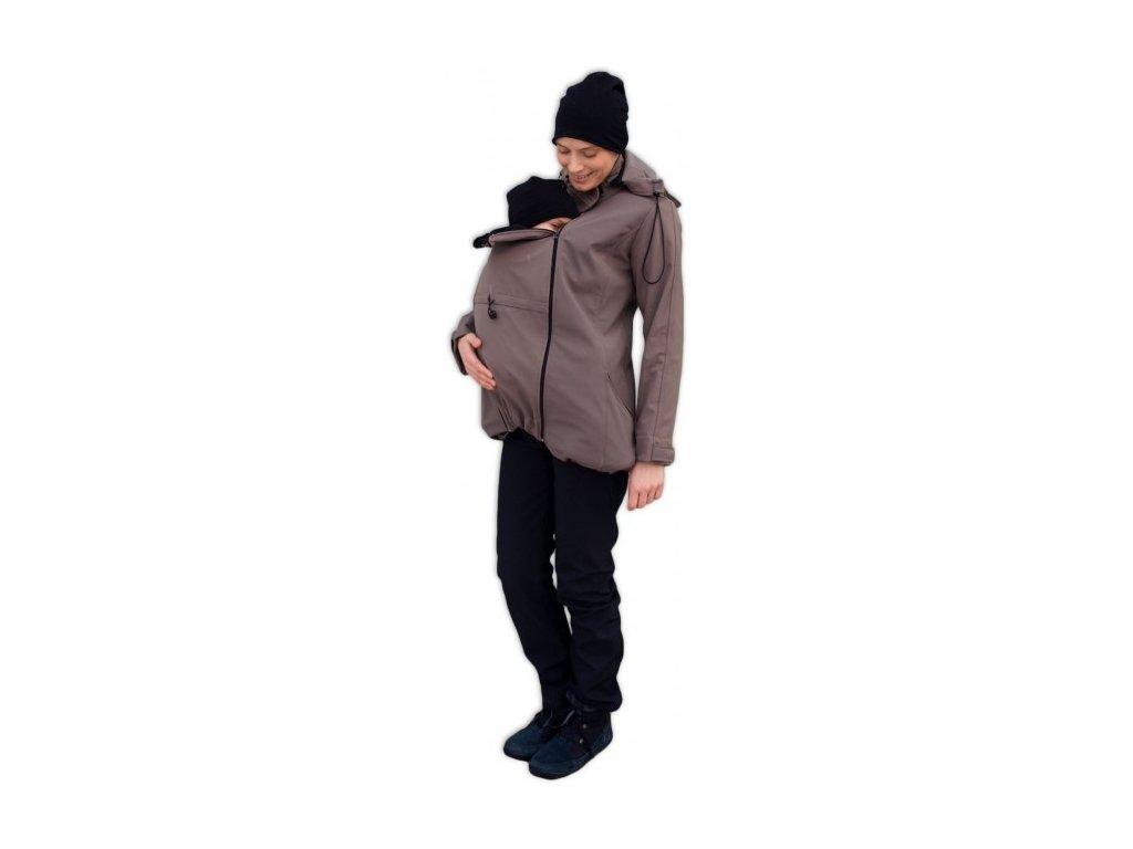 Jožánek Nosiaca softshellová bunda Stella 2 3v1 - béžová
