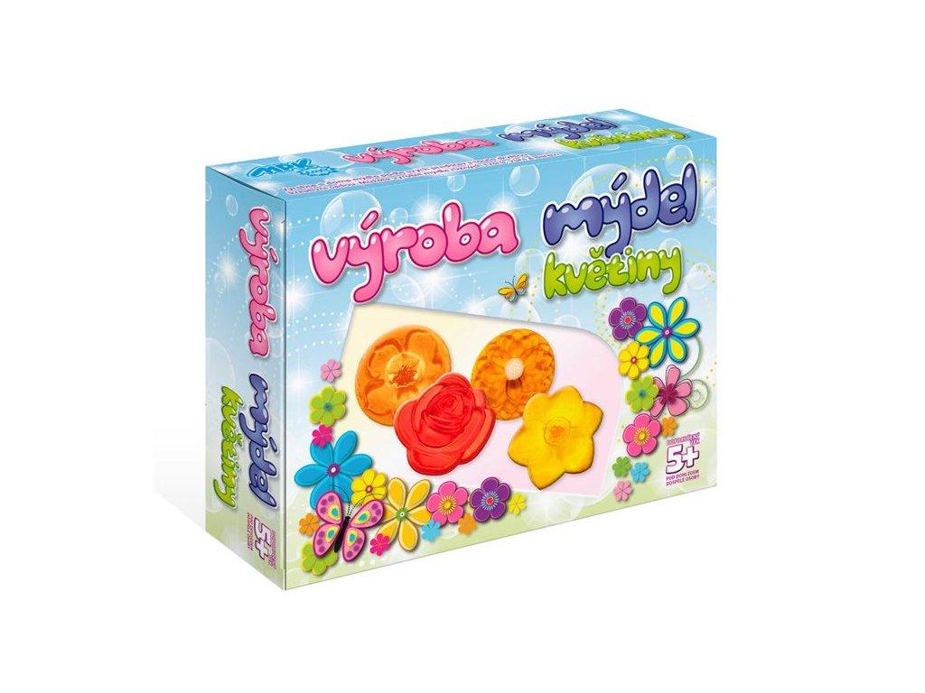 DetiArt Výroba mydla - kvetiny