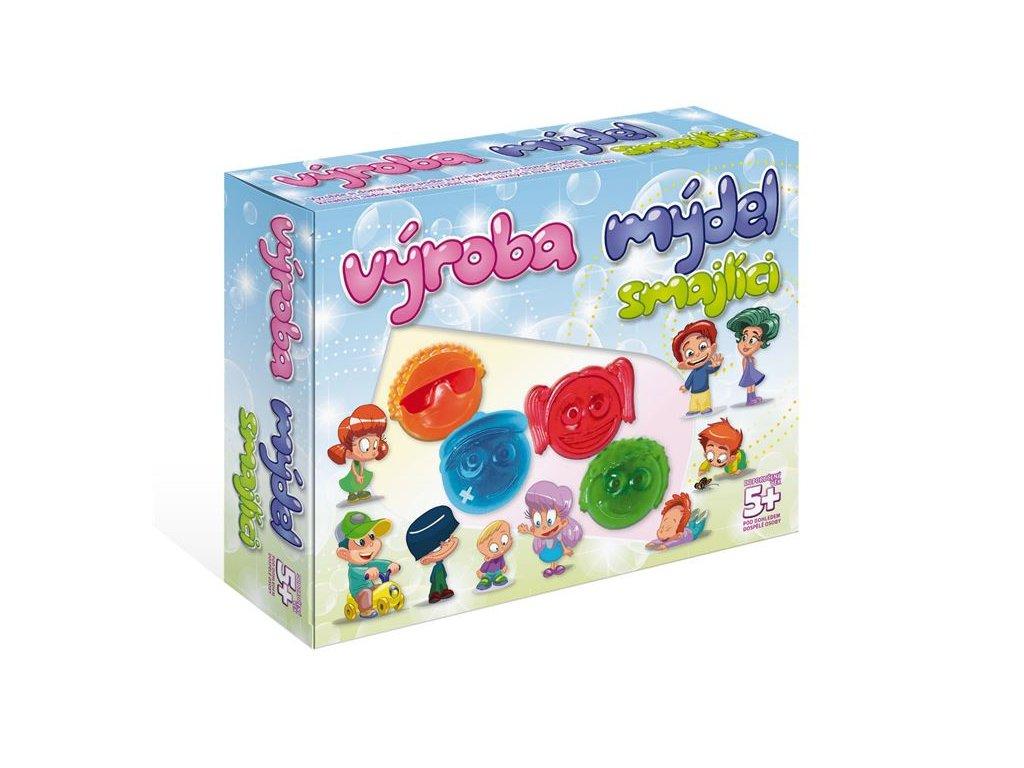 DetiArt Výroba mydla - smajlíci