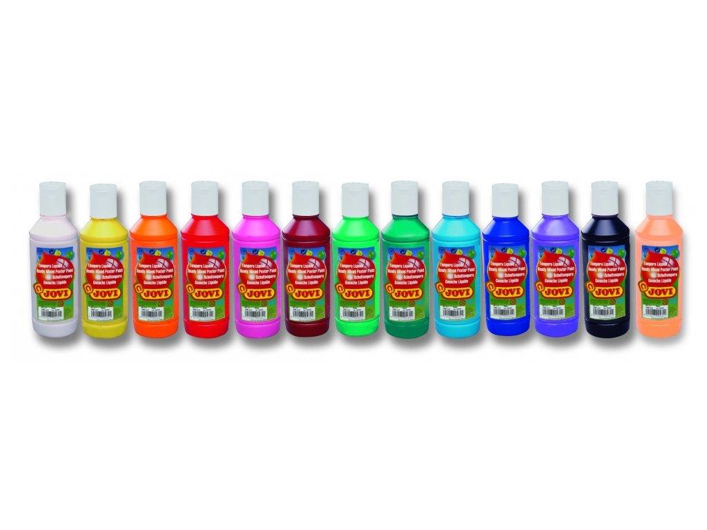 JOVI tekuté temperové farby 250ml
