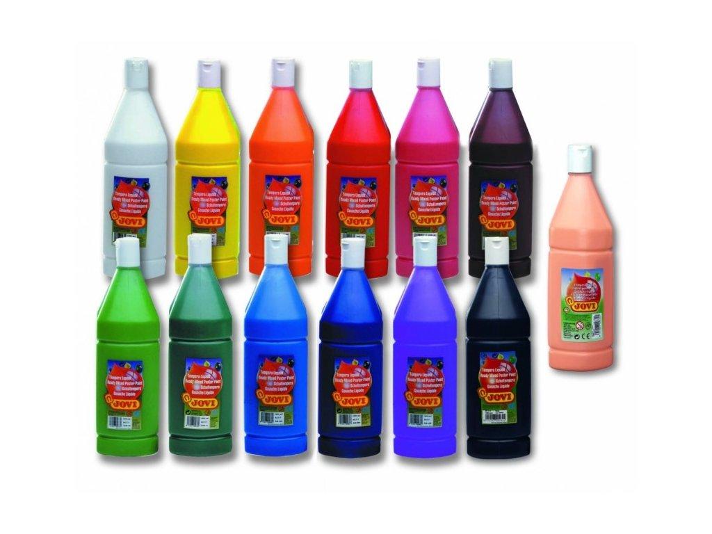 JOVI tekuté temperové farby 1 000 ml