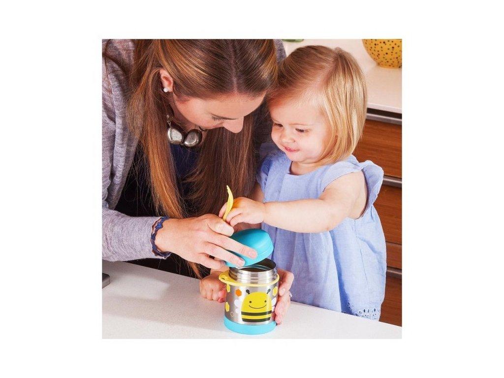 Skip Hop ZOO termoska na jedlo s vidličkou - LIENKA - Kmart.sk d1a8aa1afab