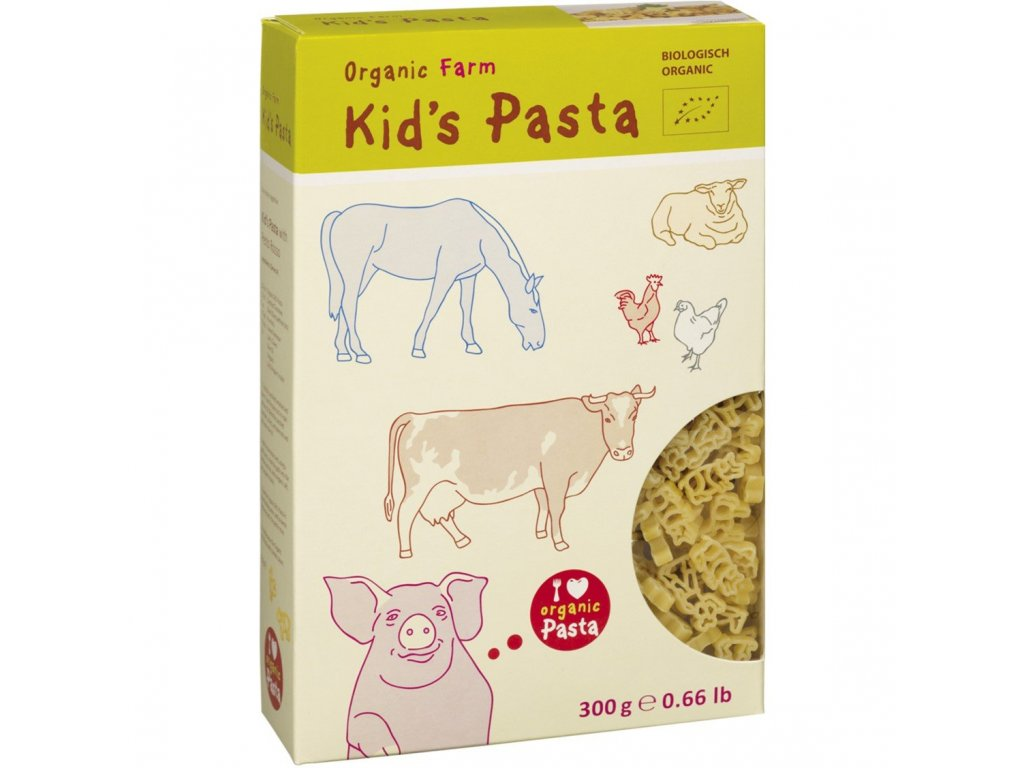 ALB Gold Organic Kids Pasta Farm 4018722302575