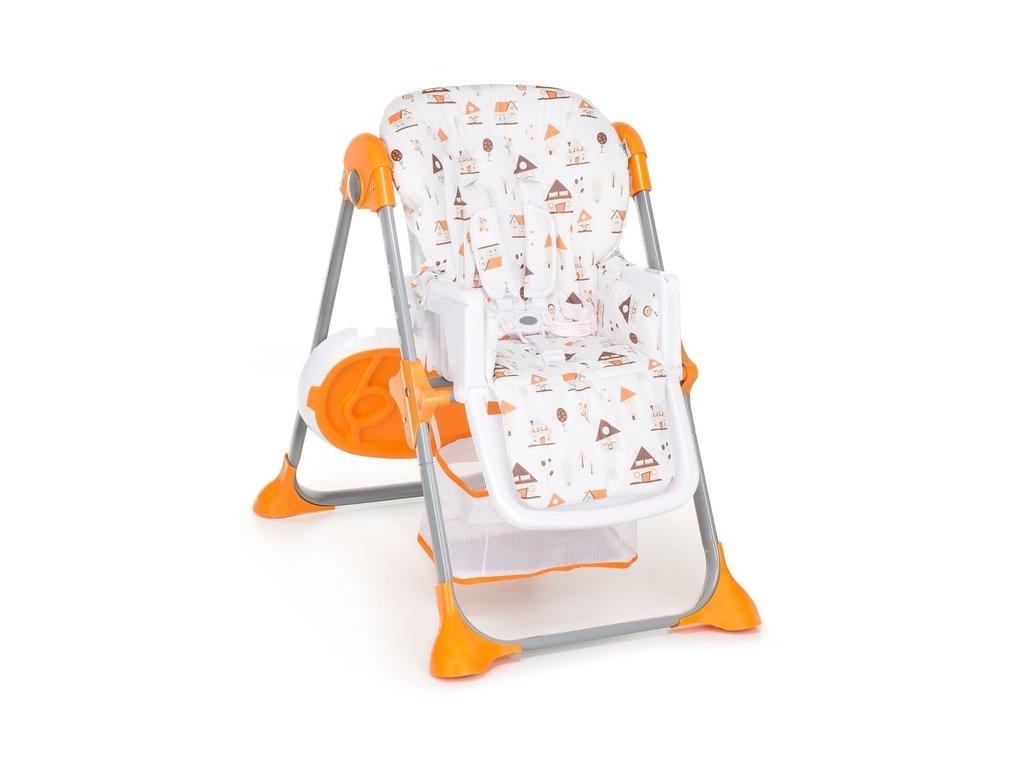 4f43cec04a1b G-MINI jedálenská stolička Simply Shell oranžová · gmini simply 2018 shell  oranzova2