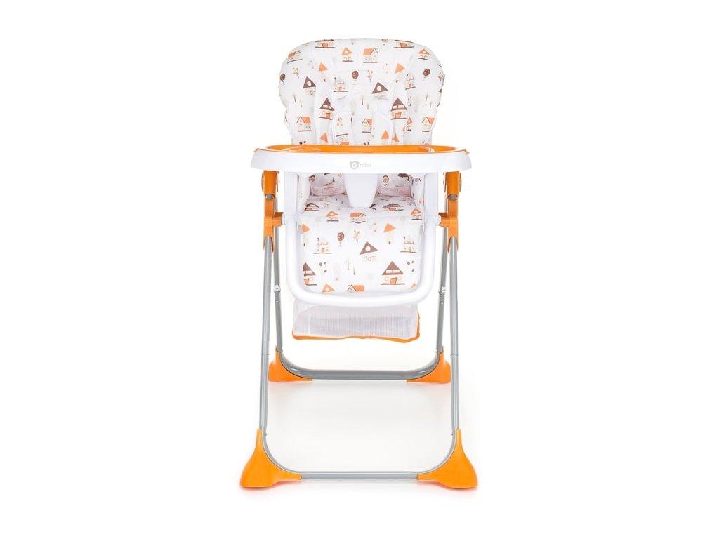 88a4fd2d8f35 G-MINI jedálenská stolička Simply Shell oranžová - Kmart.sk