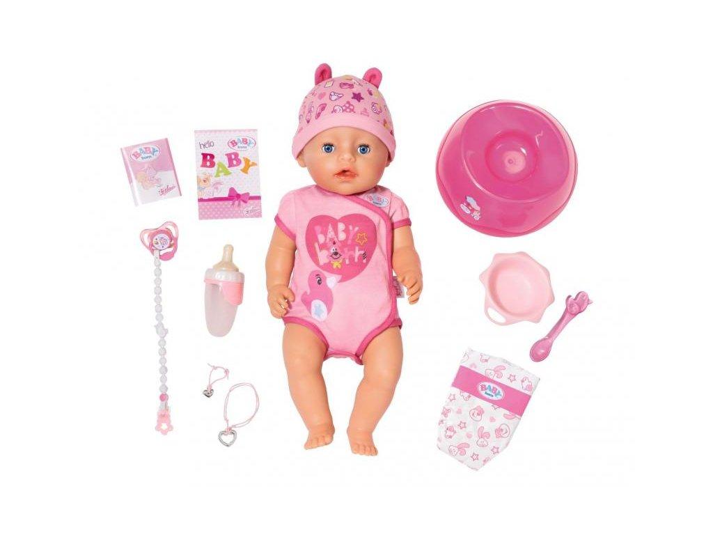 Zapf Creation BABY BORN dievčatko s príslušenstvom
