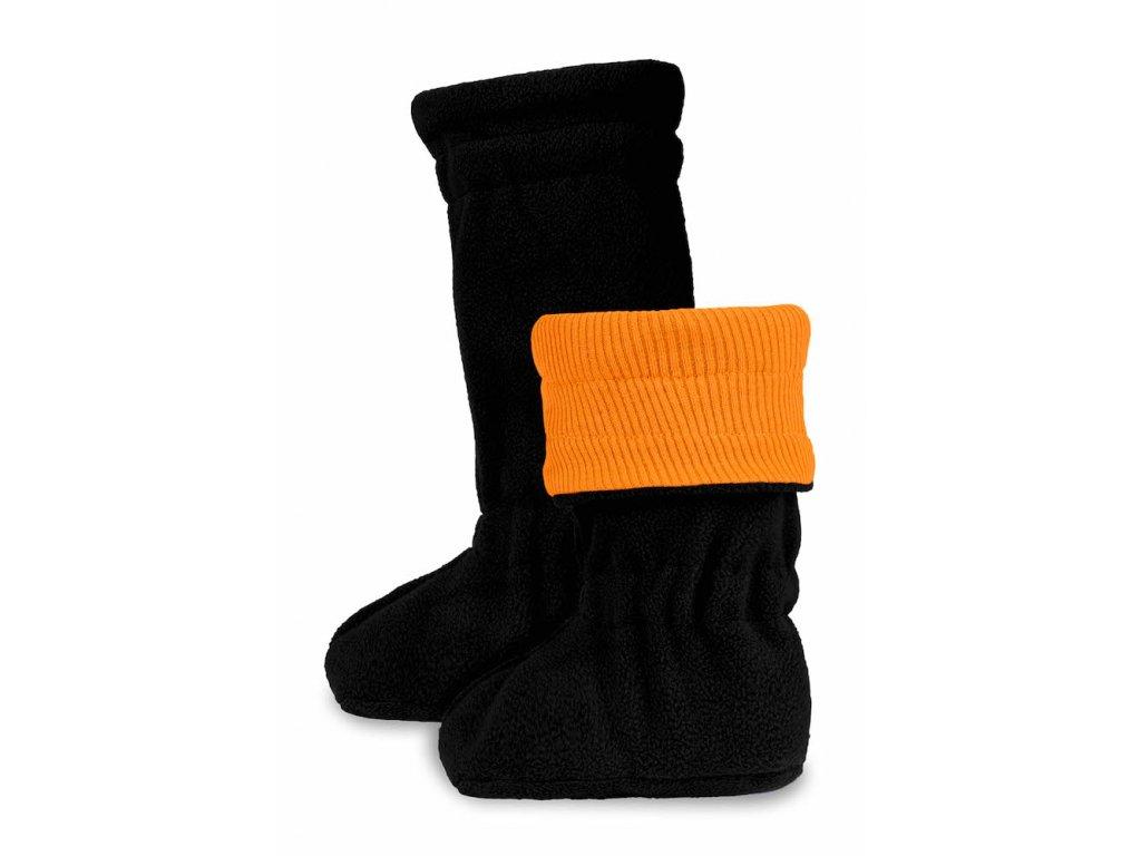 M18 Booties Winter Festive Orange Black par Final (kopie)
