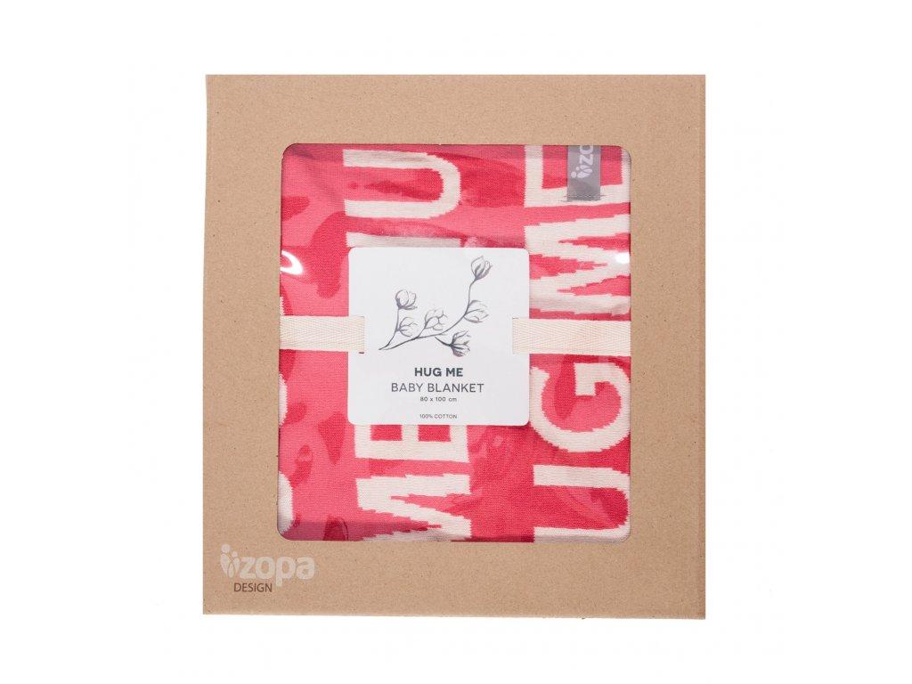 ZOPA Dětská deka Hug Me ZOP055620/Redwine