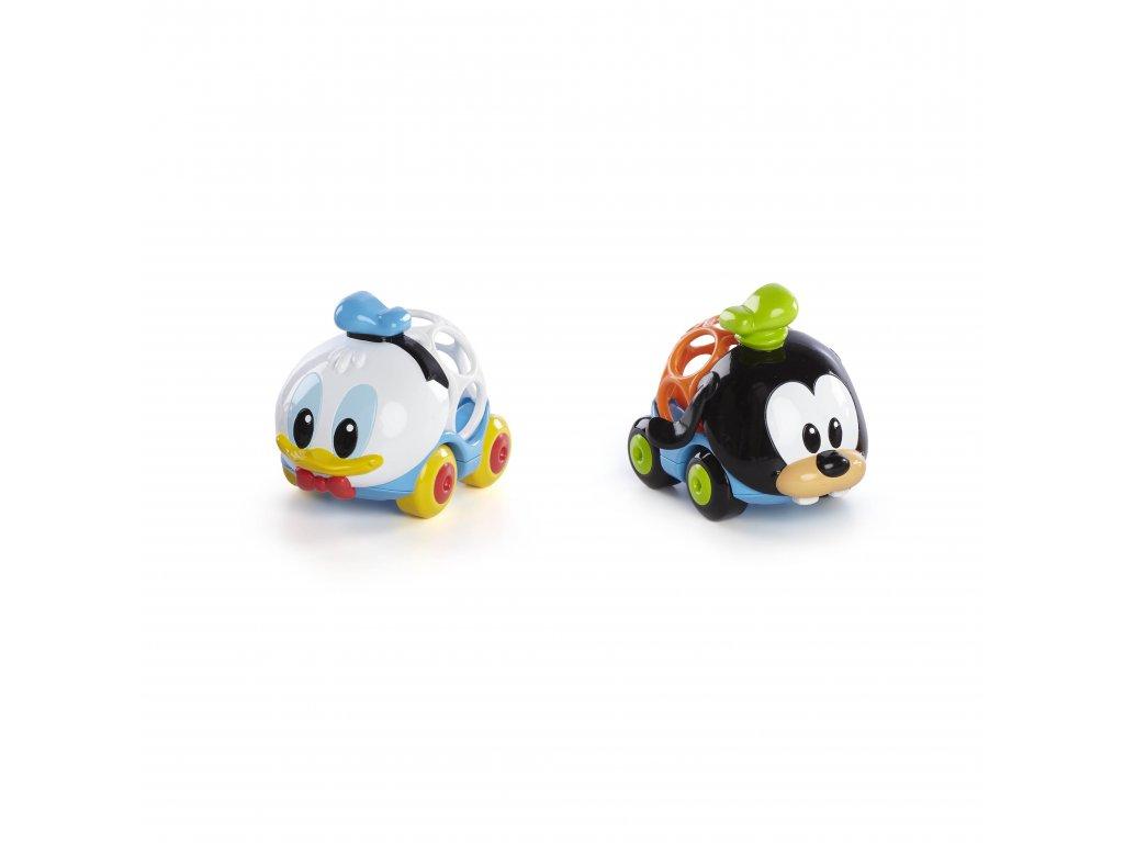 Disney baby Hračka autíčka Donald & Goofy Go Grippers™ 2ks, 6m+ 10696-6