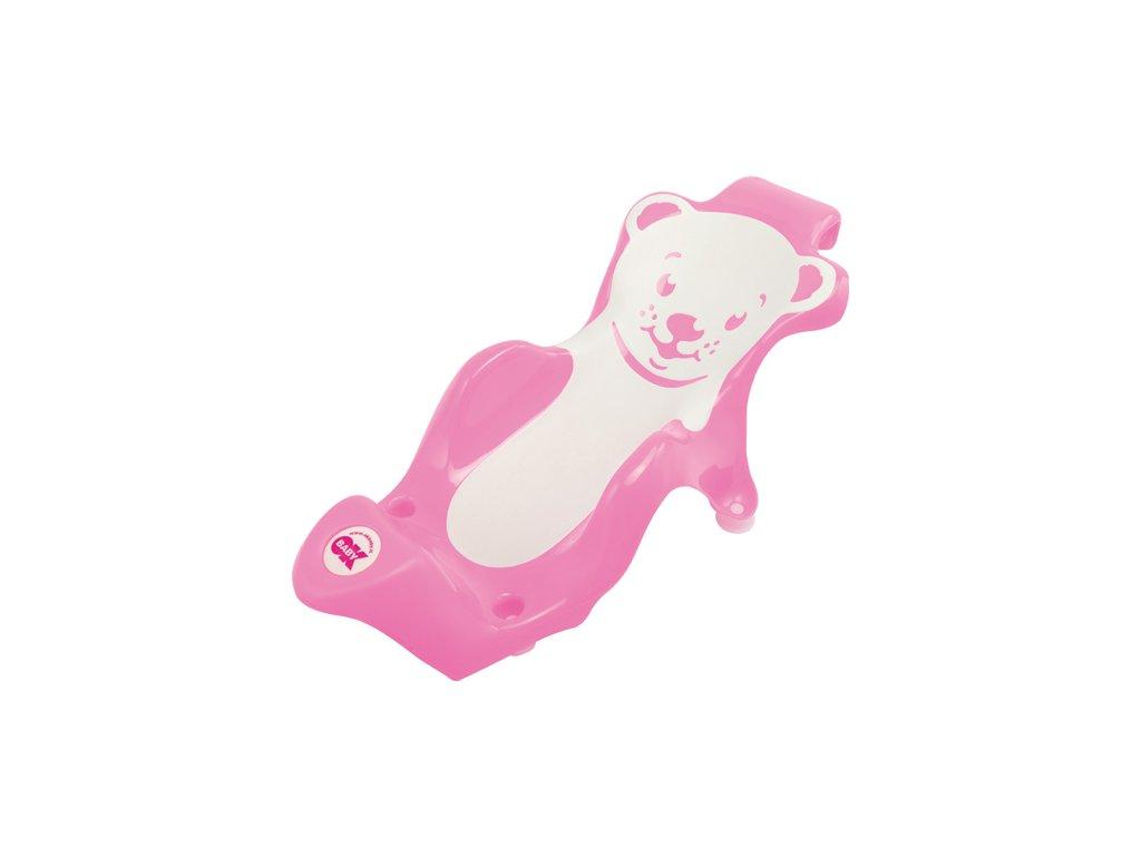 OK Baby Lehátko do vaničky Buddy ružová 66 37946640