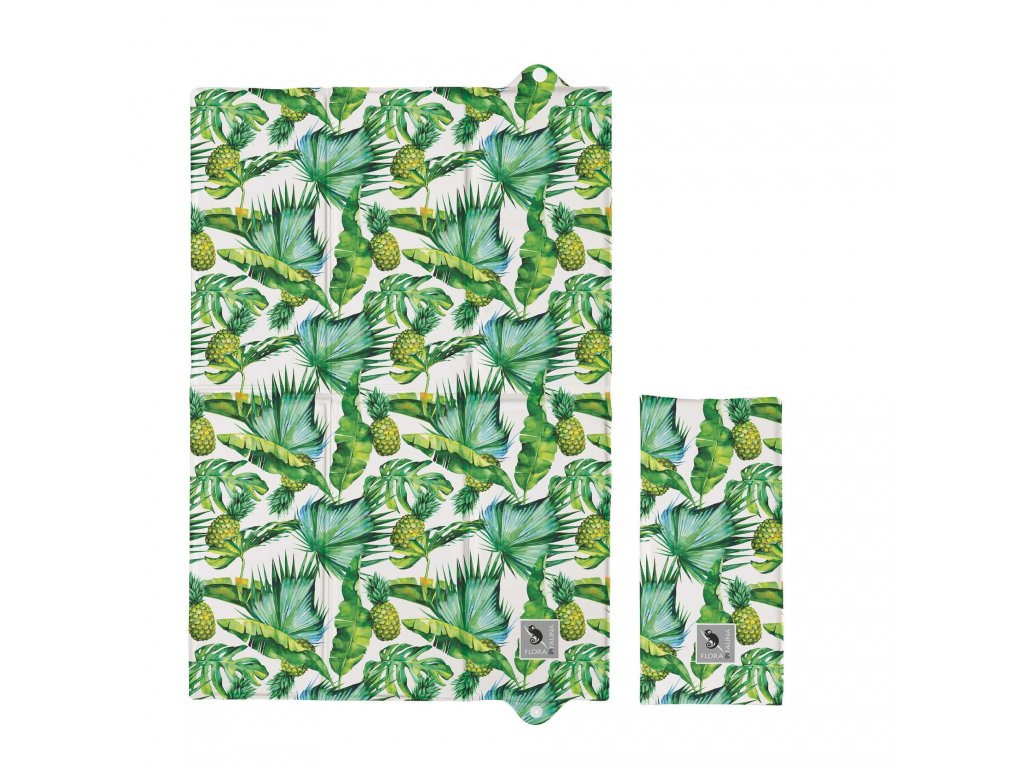 Ceba Podložka prebaľovacia cestovná Flora&Fauna Ananás Ceba W-305-099-545