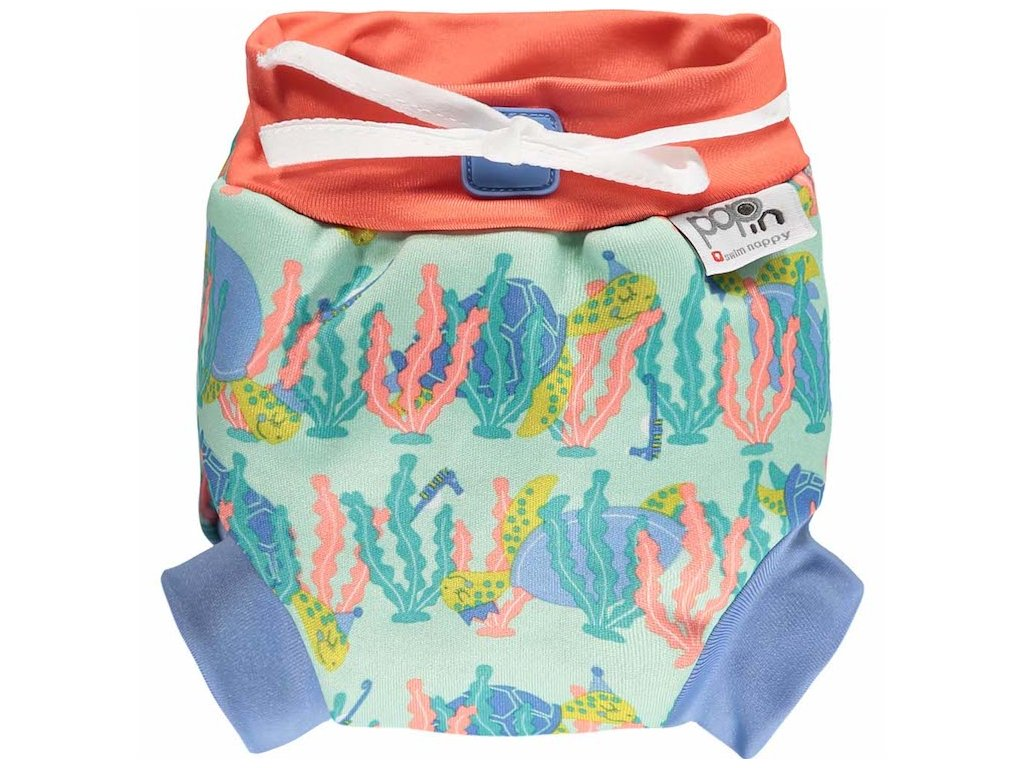 546635 Close Pop in Swim Nappy Turtle