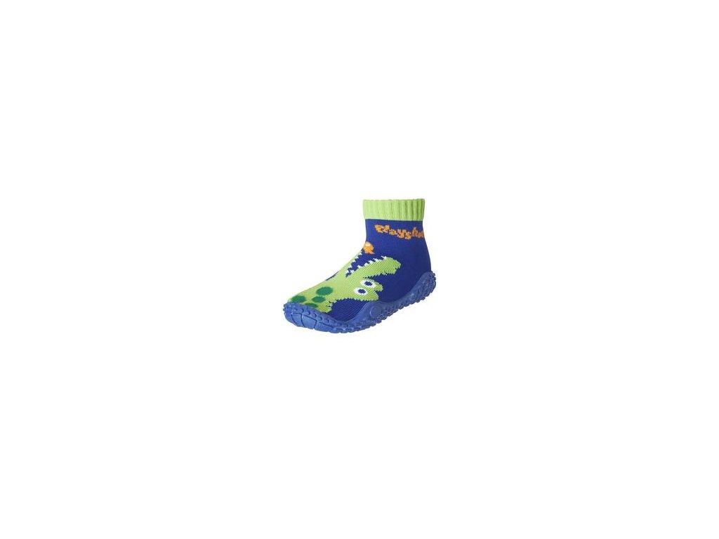 Playshoes ponožky do vody - krokodíl