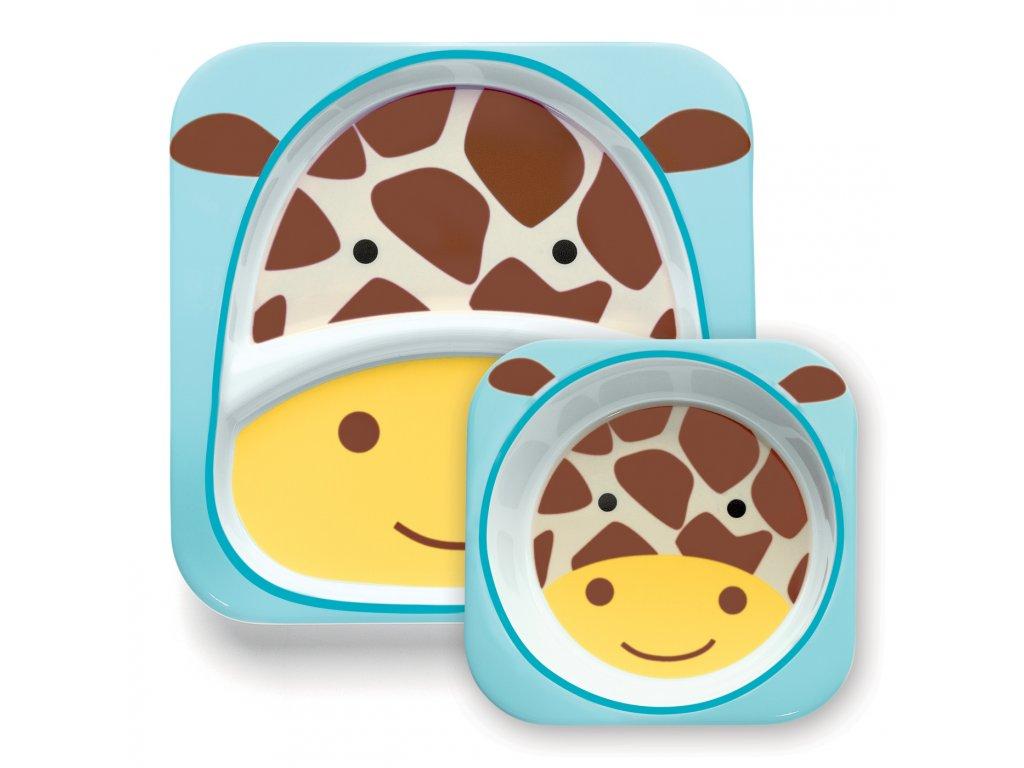 Skip Hop Zoo Jedálenský set - Žirafa 6m+ SH2522.13