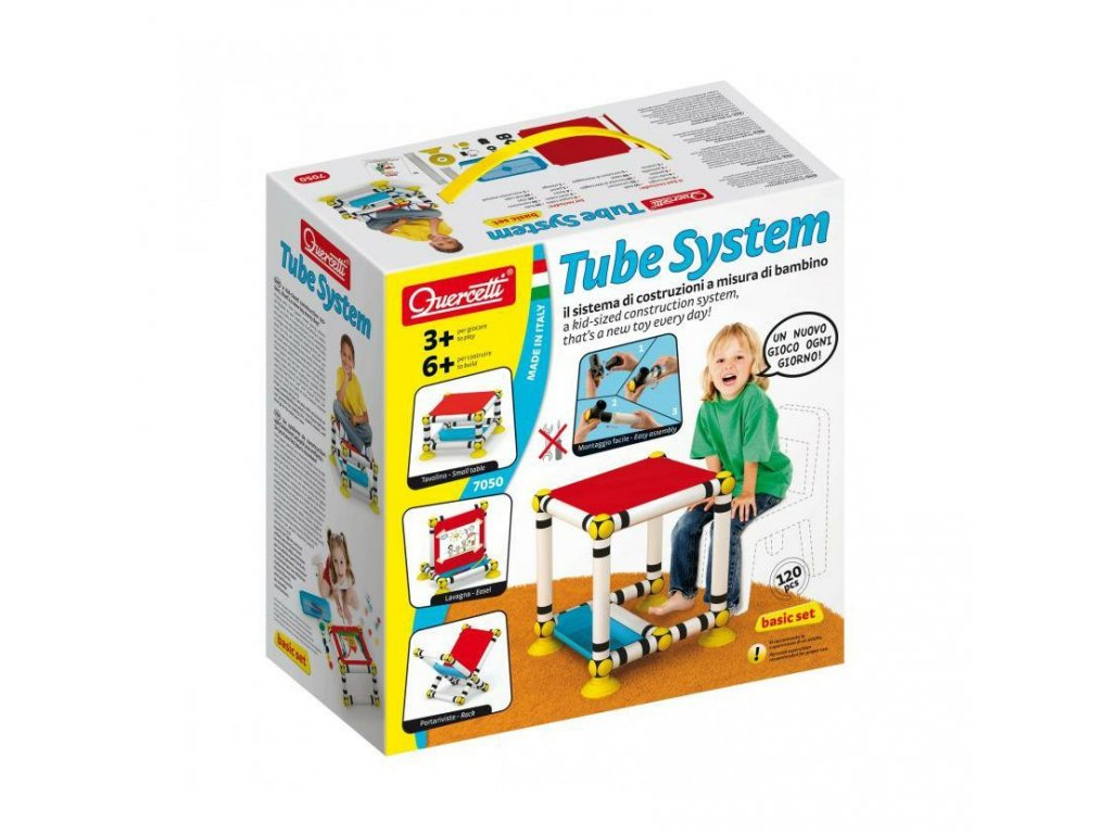 Quercetti Tube System Basic set