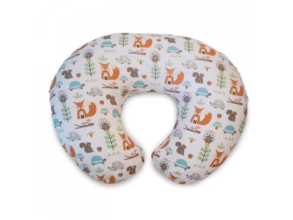 Chicco Vankúš na dojčenie Boppy - Woodland 79902.0506
