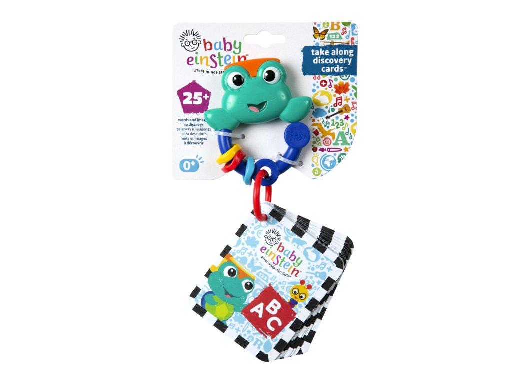 Baby Einstein Karty zábavno-vzdelávacie Take Along Discovery Cards™ písmená 0m+ 90547-6L-NEW