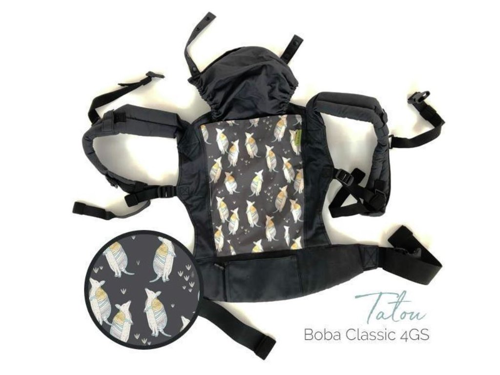 Boba Nosič detí Boba Carrier 4Gs Classic Tatou BC5-26-TATO