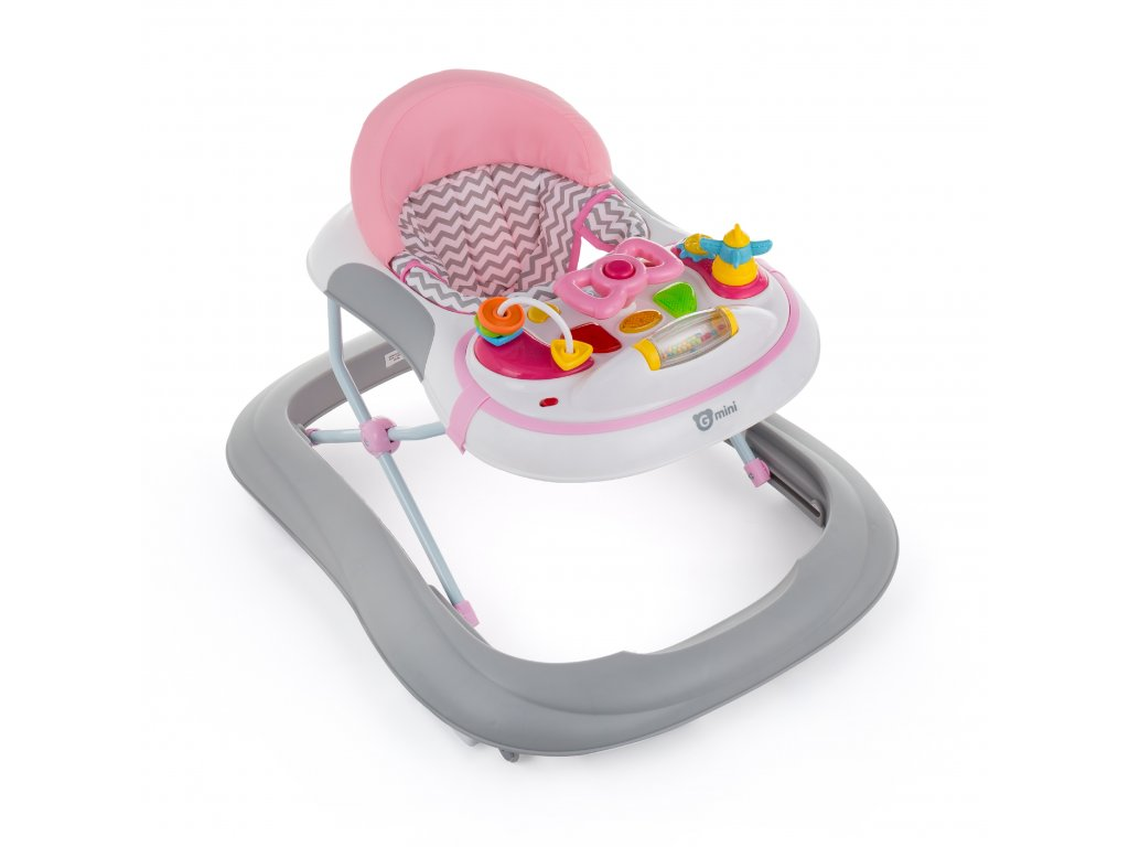 Gmini Chodítko Monty Kid Pink-Grey Gmini GM1813.38