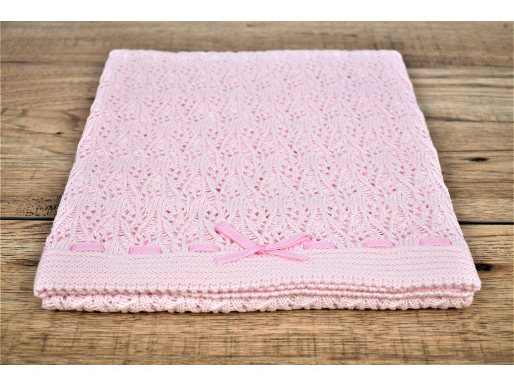295 1 detska deka ruzova dierockova