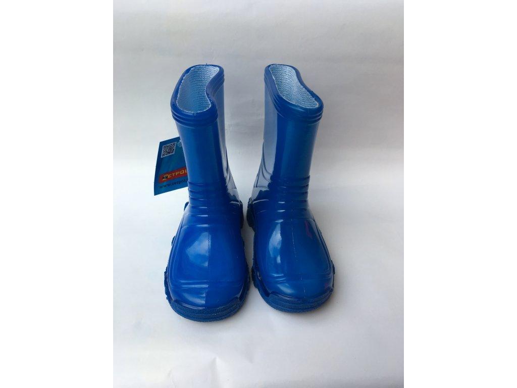 Zetpol gumáky Neon Vodník - modré