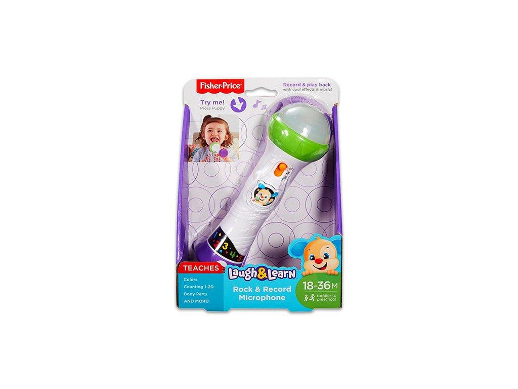 fisher price edukacny mikrofon mattel madarsko jazycna hracka