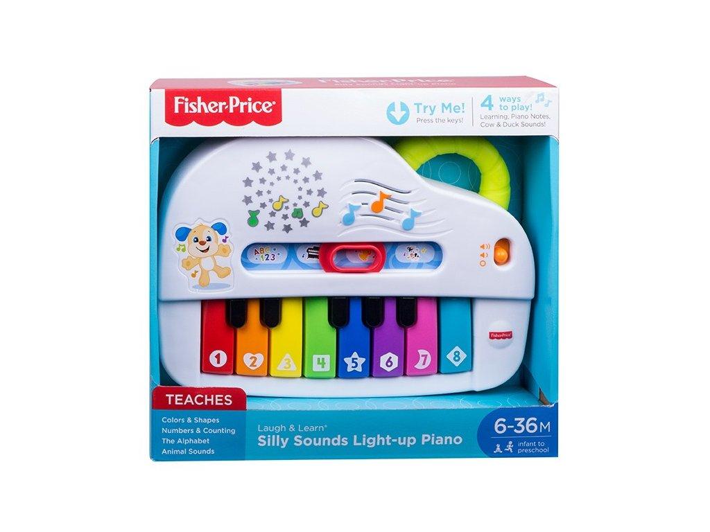 mattel fisher price hudobne piano so svetlami sk 119875