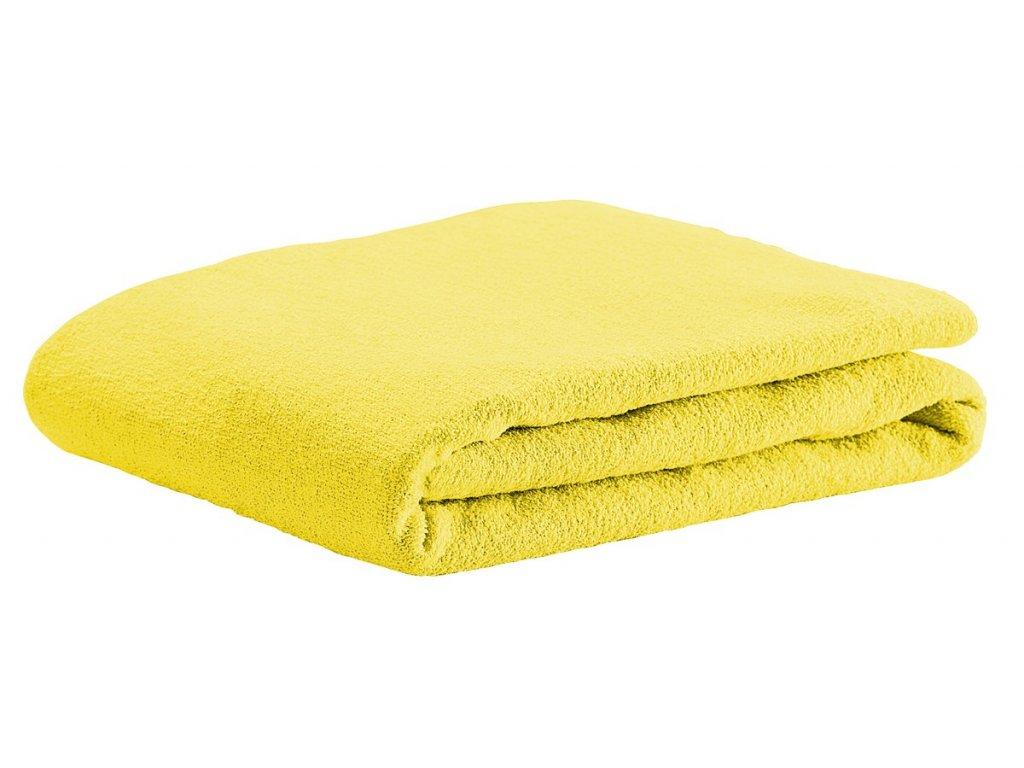 ODENWÄLDER Prestieradlo UNI froté žltá