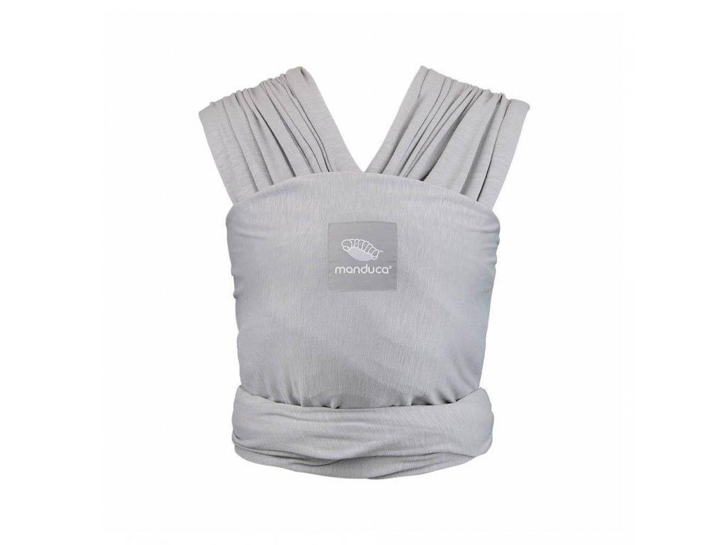 Manduca sling šatka na nosenie detí light grey