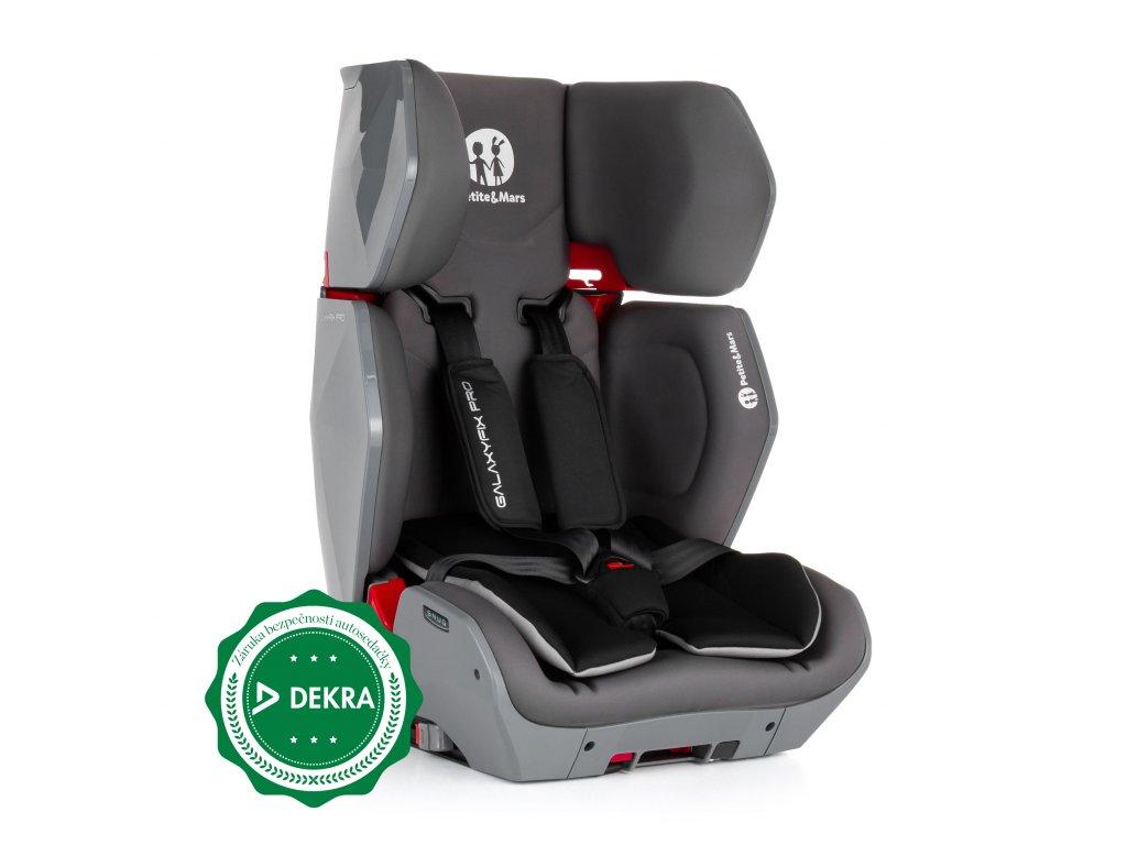 Petite&Mars Autosedačka Galaxyfix Pro Grey 9-36kg 2019 Petite&Mars 829902