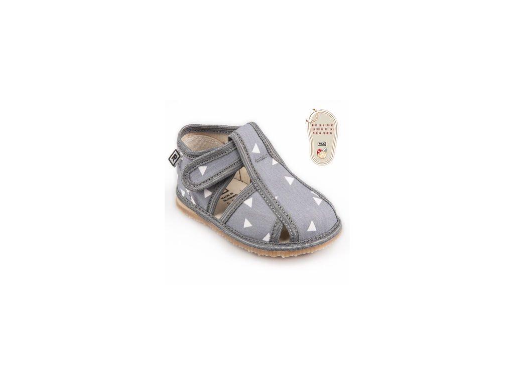 papuce sedy trojuholnik 1355.thumb 409x369