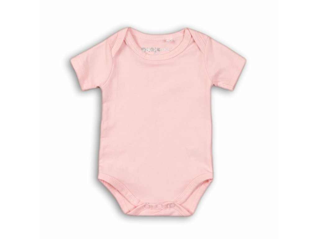 Dirkje Body krátky rukáv Basics 86 Pink N56-86