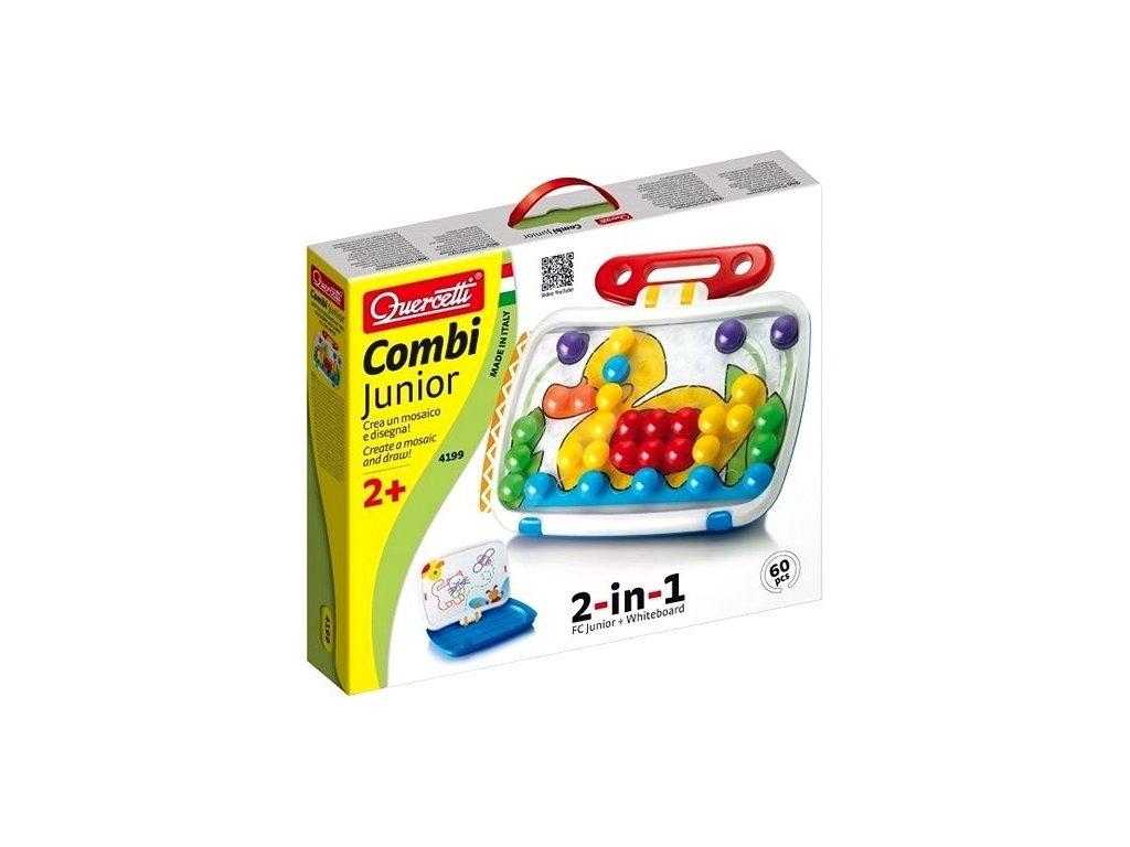 Quercetti Combi Junior -vzdelávacia hra