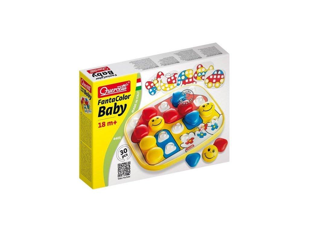 Quercetti Fantacolor Baby Basic 4405 - vzdelávacia hra