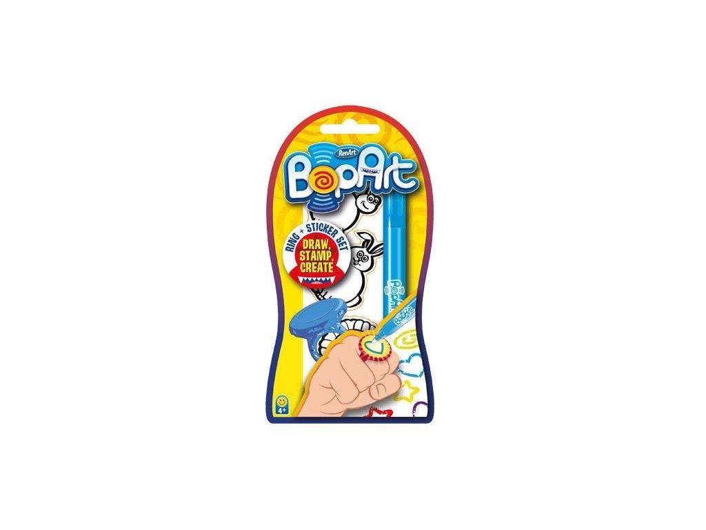BOPART Ring Blue Sapphire -prstienkové pečiatky