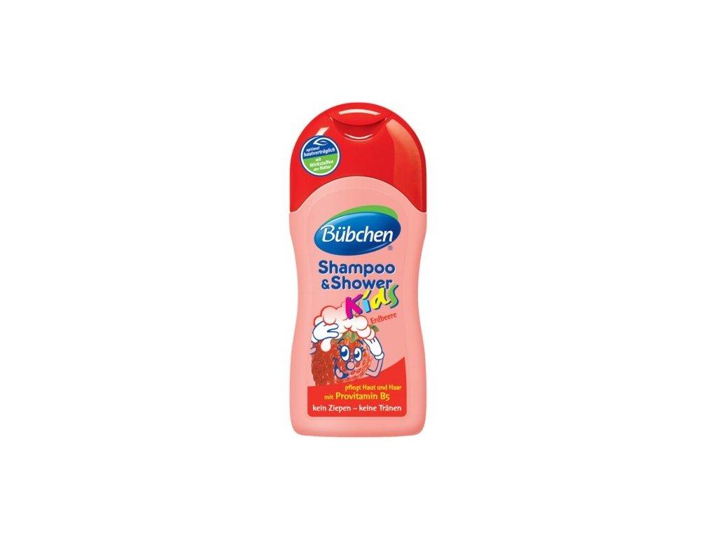 Bübchen Kids 2v1 sprchový gél jahoda 200ml