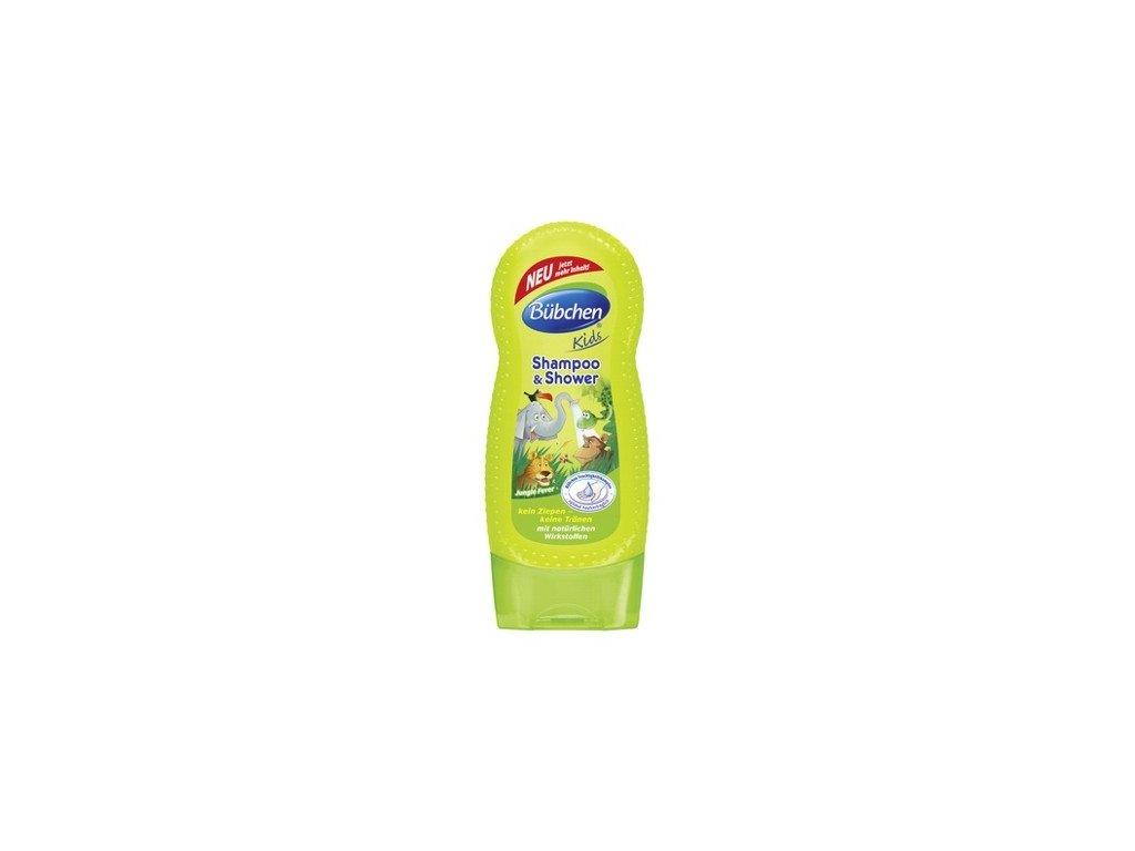 Bübchen Kids 2v1 sprchový gél Jungle Fever 230ml