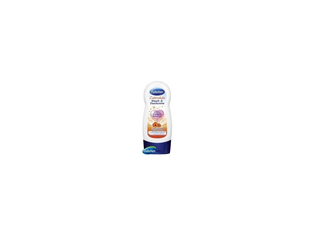 Bübchen BIO Calendula umývací a sprchovací krém s nechtíkom 230 ml