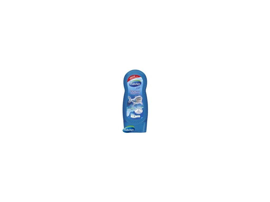 Bübchen Kids šampón a sprchový gél 2v1 Bruce 230ml