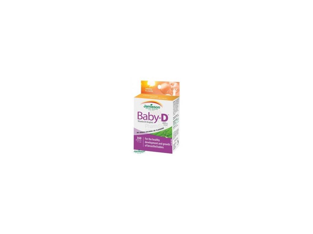 Jamieson Baby-D™ Vitamín D3 400 IU kvapky 11,7 ml